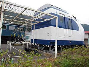 新幹線の生首