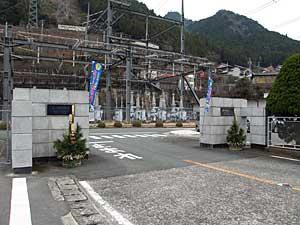 佐久間第1発電所正門