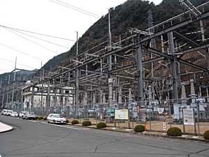 佐久間第1発電所「開閉所」